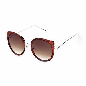 Oculos De Sol Escuro Feminino Caramelo King One Redondo 18 f3c5f2688c