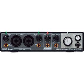 Interface De Áudio Usb Para Mac, Pc E Ipad Com 2 Entradas