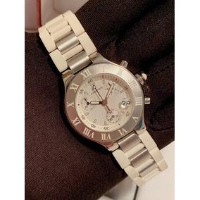 7aa0160a64d Cartier 21 Chronoscaph - Relógios De Pulso no Mercado Livre Brasil