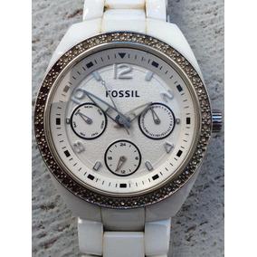 c1985b8e91a4 Reloj Fossil Para Dama En Ceramica Modelo Ce1000 - Reloj de Pulsera ...