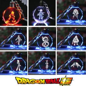Llavero Dragon Ball Anime Manga Goku Led Multi-colores