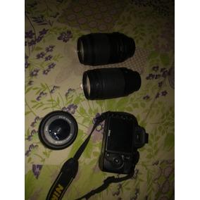Camera Nikon D3100 Com 2 Lentes