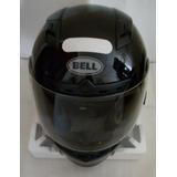 Capacete Bell Qualifer Solid - Todo Preto - L ( 59/60 )