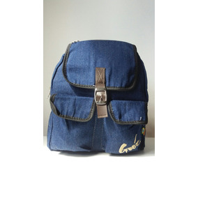Mochila Goóc Carina Azul Jeans