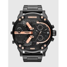 Reloj Diesel Dz7312 Mr Daddy Gunmetal + Envio Gratis