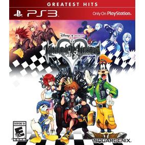 Jogo Midia Fisica Kingdom Hearts 1.5 Remix Playstation Ps3