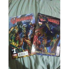 Os Vingadores Numero 1 E 2 - Totalmente Nova Marvel
