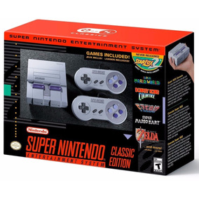 Super Nintendo Classic Edition Mini Americano Snes Original