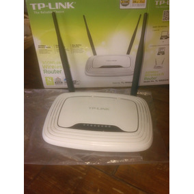 Router Tplink 300mbps Nuevo Tl-wr841n 2antenas