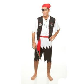 Fantasia Pirata Masculino - Fantasias para Homens no Mercado Livre ... 42bf7463f83