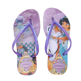 Ojotas Havaianas Kids Slim Princess Niña Li/do
