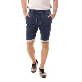 Bermuda Jeans Osmoze Jogger Azul