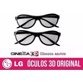 Par Óculos 3d Passivo Lg Ag F310 Dual Play Games Glasses - Óculos 3D ... 608435bb41