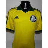 Camisa Palmeira Amarela Comemorativa - Camisa Palmeiras Masculina no ... d9b295e2a6478