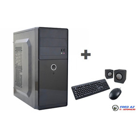 Cpu Intel 2gb Wifi Completa + Teclado/mouse/caixa De Som