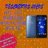 Htc U11 Rom 128gb Octa-core 6gb Ram Lte