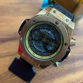 Relógio Dourado Hublot