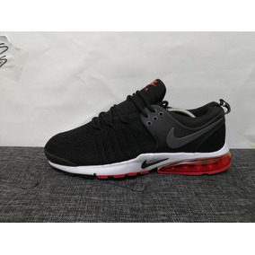huge discount 410c7 c8a17 Tenis Nike Pressto Negro Rojo Envió Gratis