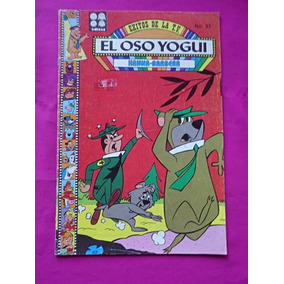 Revista El Oso Yogui N° 37 Hanna Barbera Septiembre De 1986