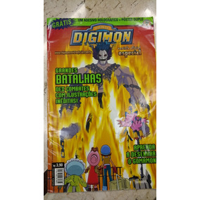 Revista Digimon - Grandes Batalhas