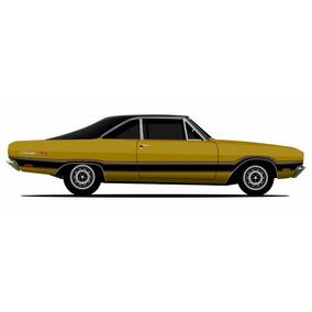 Faixas Adesivas Dodge Charger R/t 1978 - Thd Designs