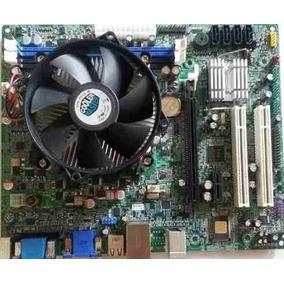 Tarjeta Madre H61-h2- Cm Con Procesador I5 2400