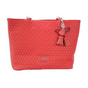 Bolsa Guess Envisioning Jj622323-red 100% Original P/dama