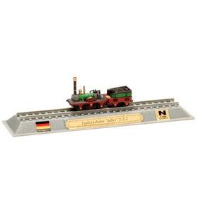Locomotivas Do Mundo Edição 44 Ludwig-süd-nord-bahn Adler 2-