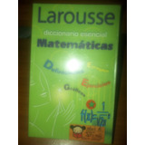 Diccionario Matematico Larousse