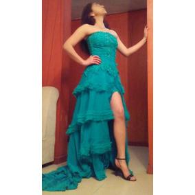 7937dc17f Vestido Para Graduacion Verde Jade - Vestidos en Mercado Libre Perú