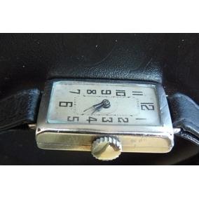Reloj Antiguo En Plata Solido Ingles Mecanico Cuerda De 1932