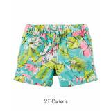 Valor De 2 Peças Short Blusa Calça 2t Meninas Carters Usa