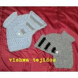 Gorro Medieval Tejido Crochet Invierno. Casco Vikingo.