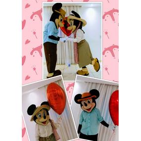 Fantasia Mickey Safari Ou Minnie Safari - Aluguel - R$150,00