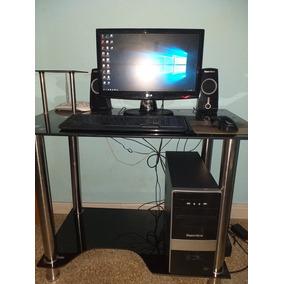 Computadora Amd Soneview 1005 Con Lcd Lg + Accesorios