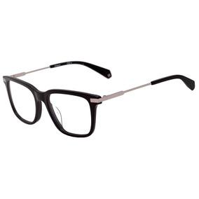 28daef2c9d8f9 Polaroid Pld D346 - Óculos De Grau 807 19 Preto Brilho Lente