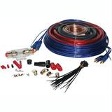 Kit Cables Para Potencia O Woofer 8 Gauge