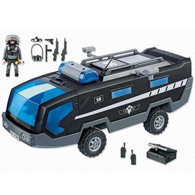 Playmobil City Action Veículo De Comando Swat 5564 Sunny
