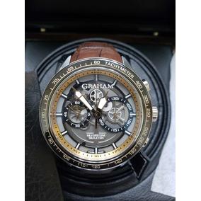 Relógio Graham Silverstone Rs Skeleton 2staz.b02a Novo