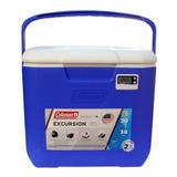 Caixa Térmica Com Termômetro 28,4 L Coleman - Azul