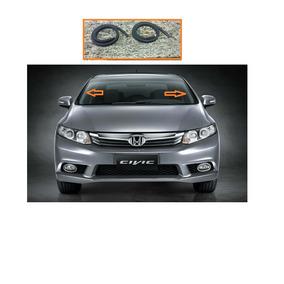 Acabamento Do Parabrisa Honda Civic 2007 A 2012 Borracha