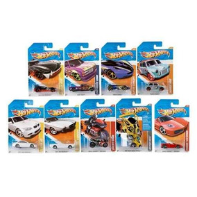 Hot Wheels Pack X 5 Colección Autos Surtidos Original Mattel