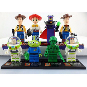 Kit Toy Story - 08 Bonecos - Minifigures