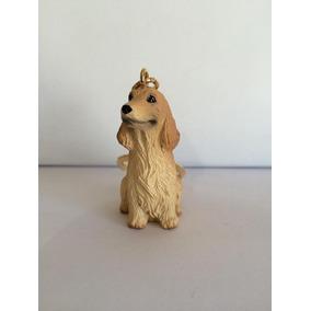 Cachorro Cocker Chaveiro Importado Japonês Miniatura Cães
