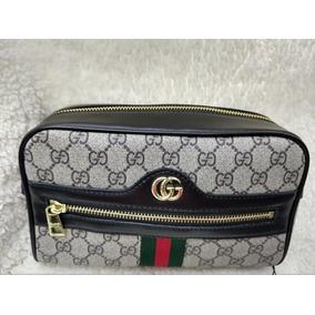Bolsa Necessaire Gucci - Calçados, Roupas e Bolsas no Mercado Livre ... 1fb771401e