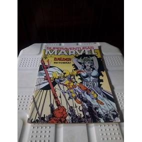 Hq Gibi Superaventuras Marvel Balder Retorna Nº89 Ano 1989