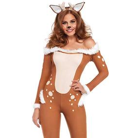Disfraz Venado Reno Navidad Halloween Fiesta Diadema S