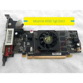 Placa De Video Ati Radeon 1gb Hd4550 Gddr2 64bit Xfx Nf