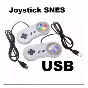 Joystick / Controle Usb Super Nintendo Snes Pc Raspberry