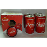 Coca Cola 4 Mini Latinhas + Ioiô Exclusivo Yo Yo Yoyo